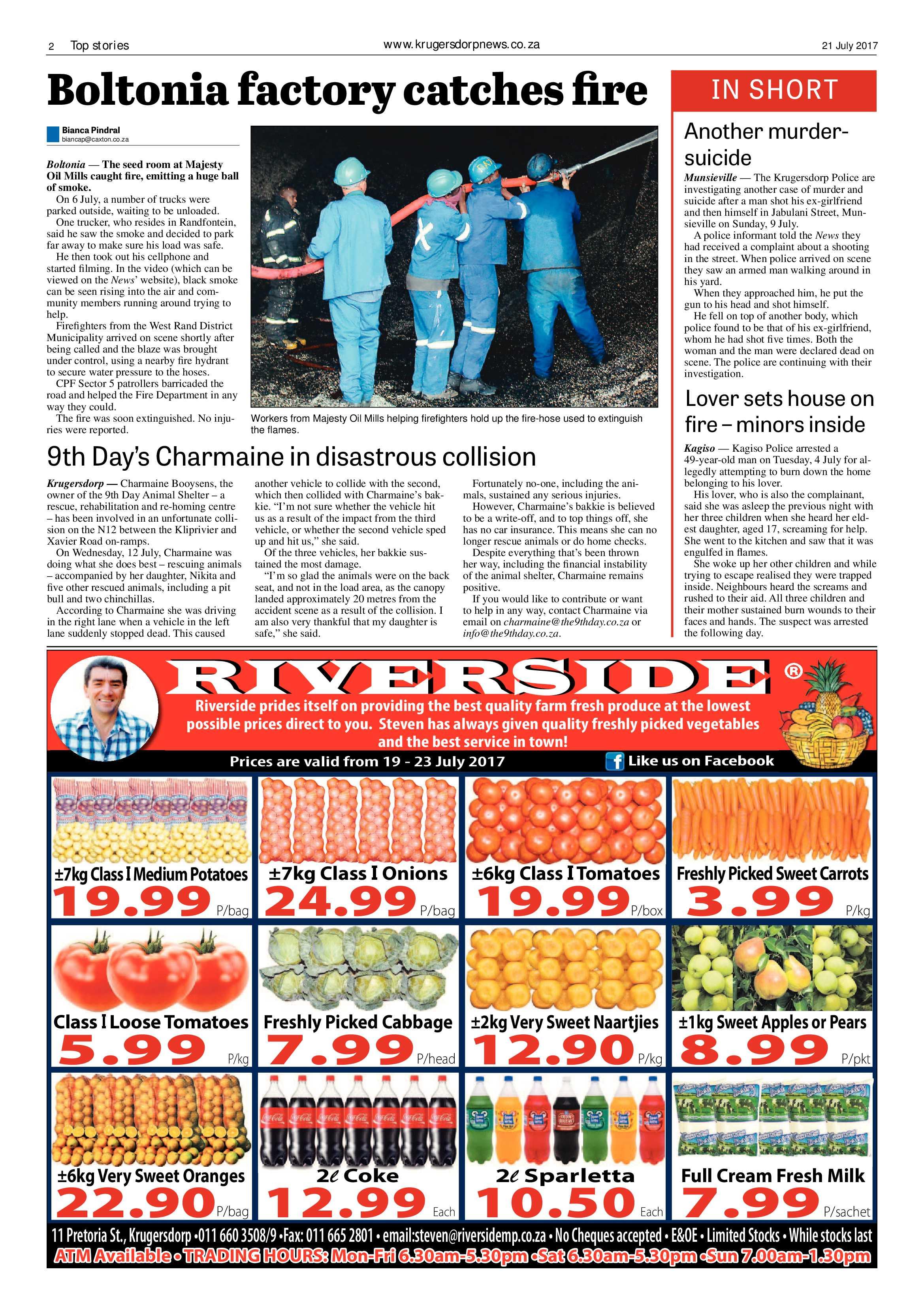 Krugersdorp News 21 July 2017 | Krugersdorp News