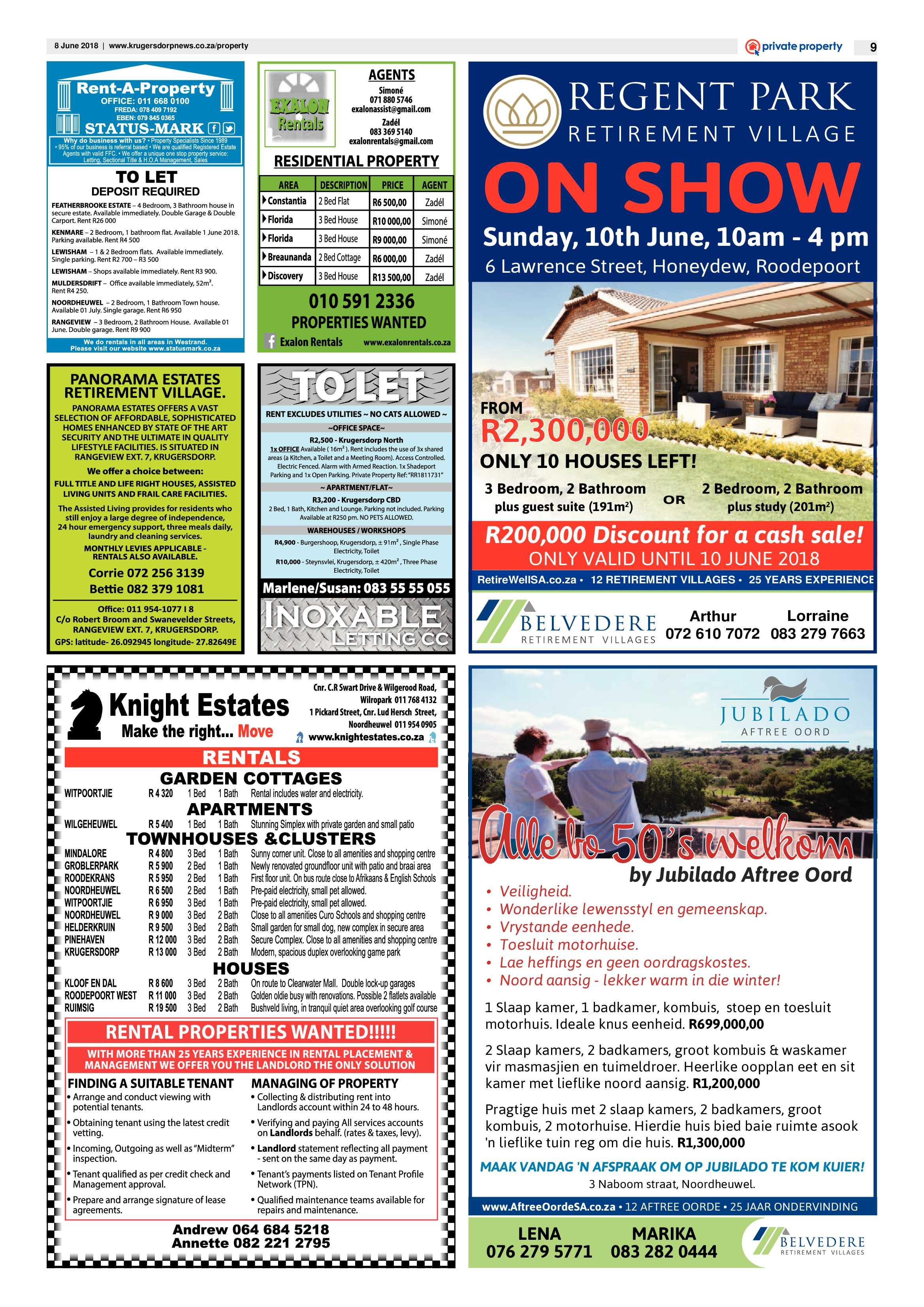 Krugersdorp News 8 June 2018 | Krugersdorp News
